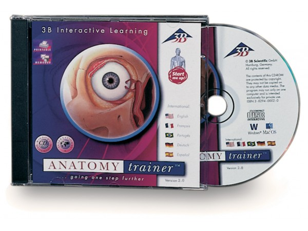 ANATOMYtrainer, Cd-ROM