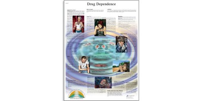 Drugsverslaving Poster Gelamineerd