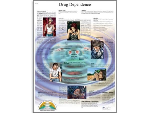 Drugsverslaving Poster Gelamineerd