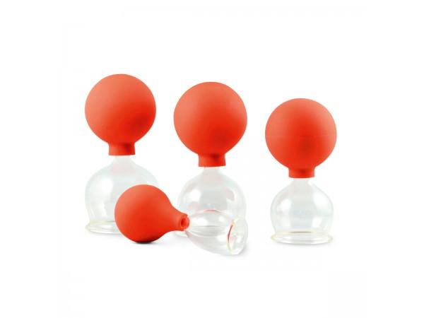 Glazen Cupping Set 40-60 mm